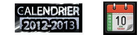 calendrier 2012 & 2013